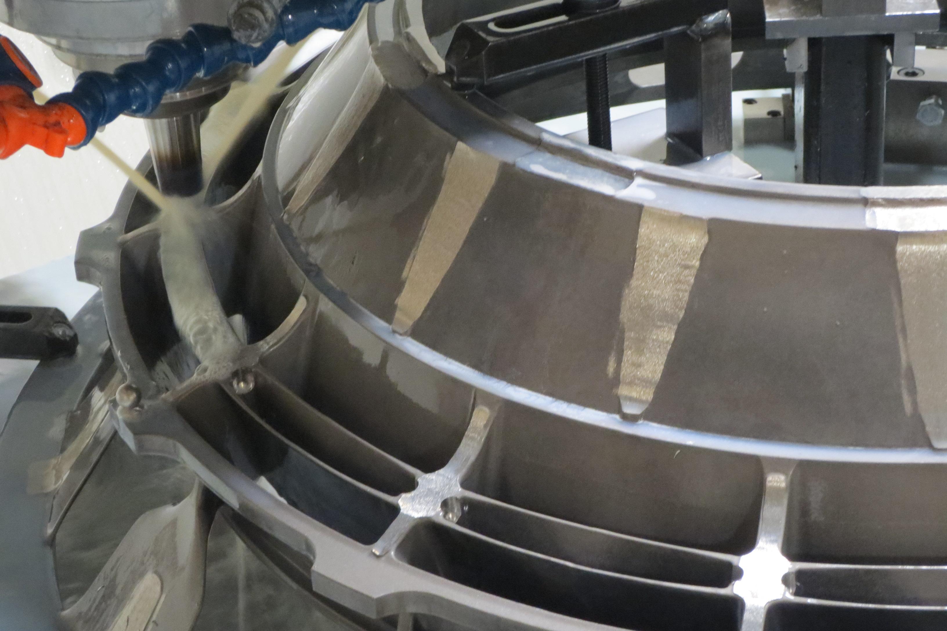 Spliter CNC Radius